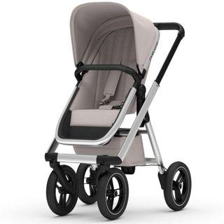 Dubatti One Kinderwagen - sand/aluminium/schwarz – Bild 3