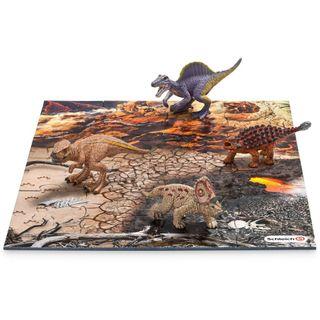 Schleich 42212 Mini Dinos mit Puzzle Lavazone