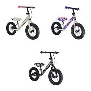 Kiddimoto Super Junior Max mit coolen Motiven - Laufrad ab 18 Monate – Bild 1