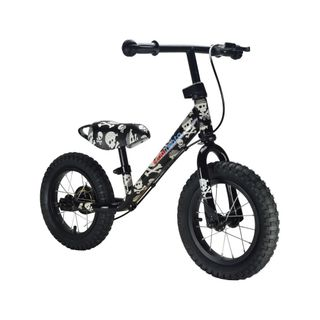 Kiddimoto Super Junior Max mit coolen Motiven - Laufrad ab 18 Monate – Bild 4