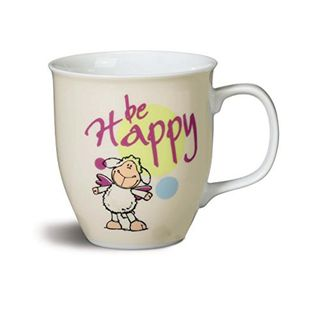 Nici 39865 Tasse Schaf Jolly be Happy 9,5x10xm Porzellan