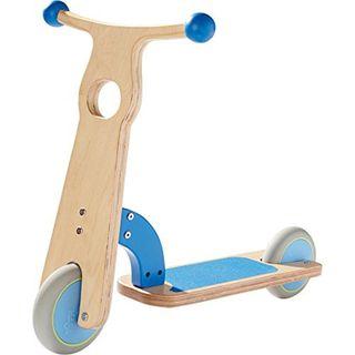 Haba 301573 Kinder-Roller blau