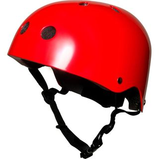 Kiddimoto Design Sport Helm Bright Red / Glanz Rot, Gr. S