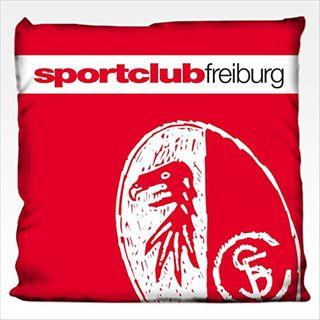 SC Freiburg Kissen Kreide 38x38
