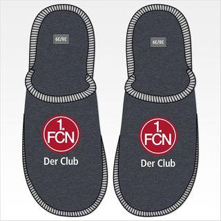 1. FC Nürnberg Pantoffel Der Club Hausschuhe Wohlfühlschuhe Filz Größe 38 – Bild 1