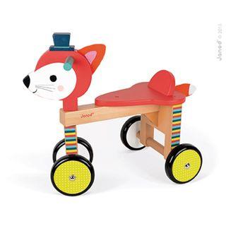 Janod 08010 Baby Forest - Laufrad Fuchs Juratoys – Bild 3