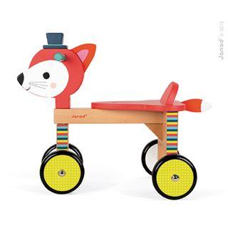 Janod 08010 Baby Forest - Laufrad Fuchs Juratoys – Bild 5