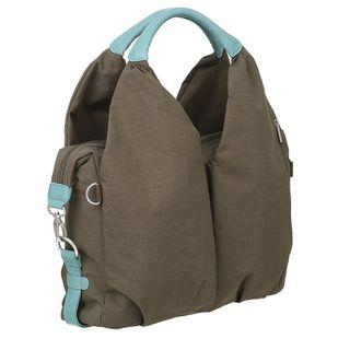 Lässig Green Label Neckline Bag Wickeltasche/Babytasche inkl. Wickelzubehör aus recyceltem Material, taupe – Bild 6