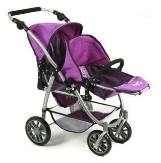 Bayer Chic 2000 689 28 Tandem Buggy Vario Purple Checker – Bild 3