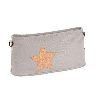 Lässig Buggy Tasche Cork Star Light Grey – Bild 1