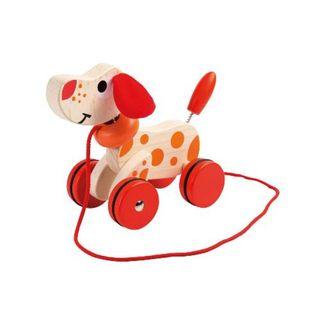 Johntoy/ Joueco  80046 Nachziehtier Hund - Walking Dog