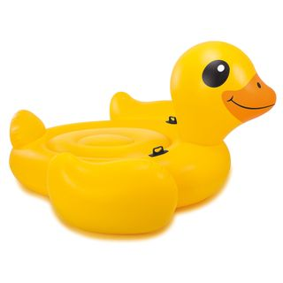 Intex Badeinsel Ente - Mega Yellow Duck Island – Bild 1