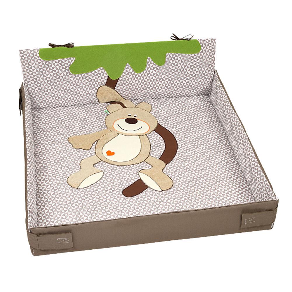 Laufgitter - Odenwälder 8183 1106 Laufgittereinlage Milan mandel, Größe 100 x 100  - Onlineshop Babyprofi
