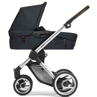 Mutsy Kinderwagen EVO - Farmer fishbone moonrock / silver - inkl. gratis Babyschale – Bild 2