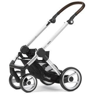 Mutsy Kinderwagen EVO - Farmer fishbone moonrock / silver - inkl. gratis Babyschale – Bild 4
