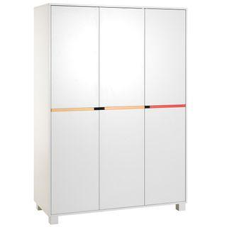 Geuther Color Line Kleiderschrank, 3-türig – Bild 1