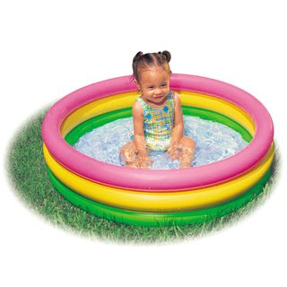 Intex 57107NP - Planschbecken Baby Pool Sunset Glow – Bild 1