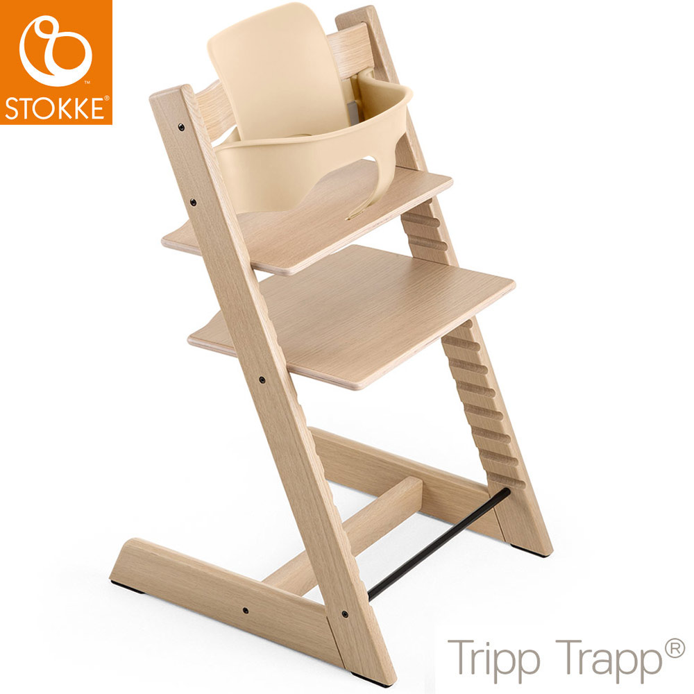 stokke tripp trapp hochstuhl inkl babyset m bel hochst hle. Black Bedroom Furniture Sets. Home Design Ideas