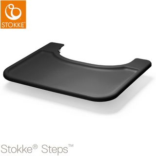 Stokke Steps Baby Set Tablett - schwarz