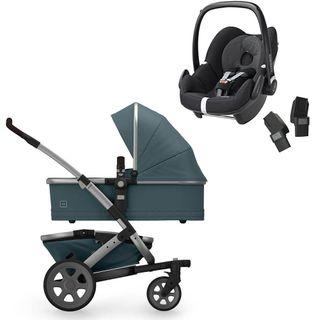 Joolz Geo 2 Quadro Mono Kinderwagen inkl. Maxi-Cosi Pebble Babyschale – Bild 2