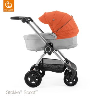 Stokke Kinderwagen Scoot inkl. Babywanne – Bild 2