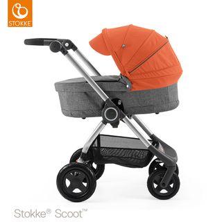 Stokke Kinderwagen Scoot inkl. Babywanne – Bild 12
