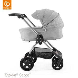 Stokke Kinderwagen Scoot inkl. Babywanne – Bild 18