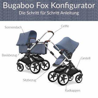 Bugaboo Fox Kinderwagen Konfigurator mit Alu Gestell – Bild 2