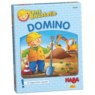 Haba Domino Bens Baustelle Legespiel – Bild 1