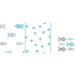 Odenwälder Doppelmull-Windeln fish in the sea 3er-Pack – Bild 3