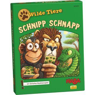 Haba Reaktionsspiel Wilde Tiere - Schnipp Schnapp – Bild 1
