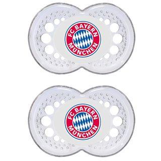 MAM FC Bayern München Schnuller Doppelset