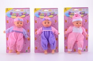 Johntoy 27382 Puppe Baby Rose, sortiert