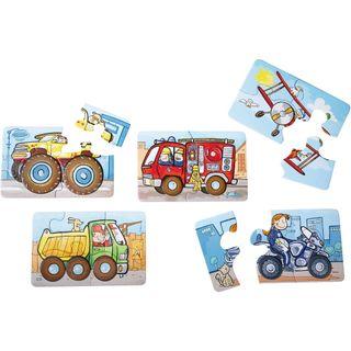 Haba 2433  5 Erste Puzzles Fahrzeuge – Bild 2