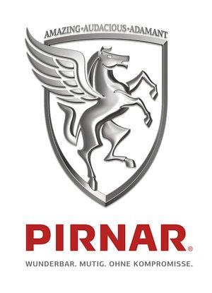 Pirnar Logo mit claim