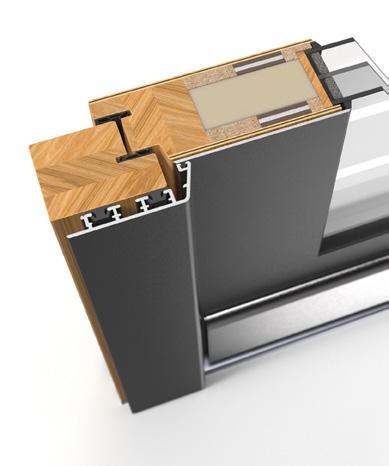 Pirnar Austattung Profil Holz-Alu Optimum Soft