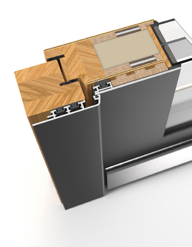 Pirnar Austattung Profil Holz-Alu Premium Soft