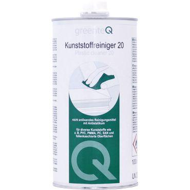greenteQ - Kunststoffreiniger 20 - 1000 ml