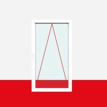 Einflügelig, 2fach-Verglasung, Kipp (K), Griff Links, Breite 1100mm