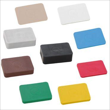 greenteQ -Unterlegplatten - 60 x 40 x 2 mm - 1 - 20 mm - 9 x 50 Stück -  9 Farben