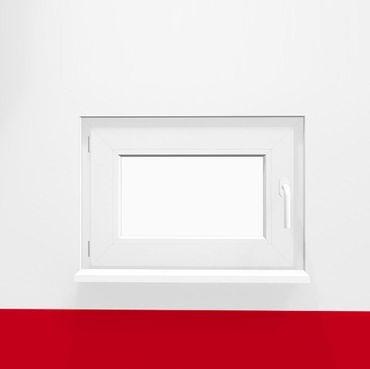Kellerfenster DK FF 3-fach weiß/anthrazit – Bild 2