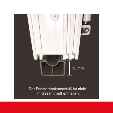 Kunststofffenster Anthrazitgrau Dreh Kipp 2-fach 3-fach Verglasung alle Größen – Bild 6