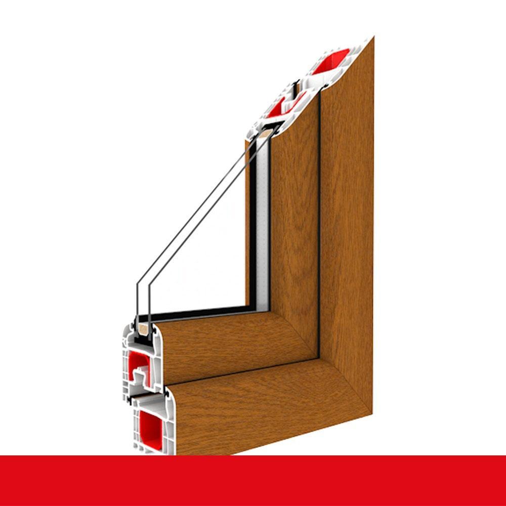 Drutex Kunststofffenster wei/ß Dreh Kipp Anschlag:DIN Rechts BxH:1000x1100 Glas:3-Fach