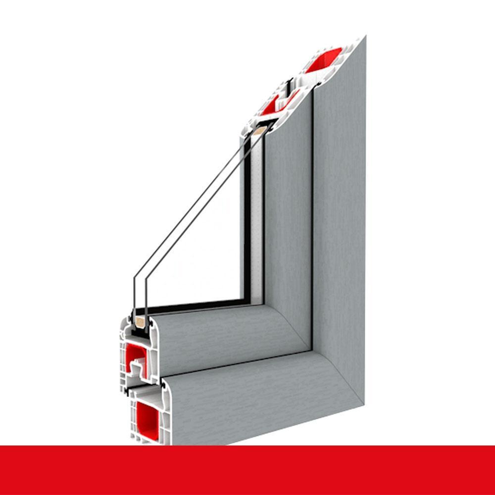 Kunststofffenster Grau Dreh Kipp 2 Fach 3 Verglasung Alle Größen