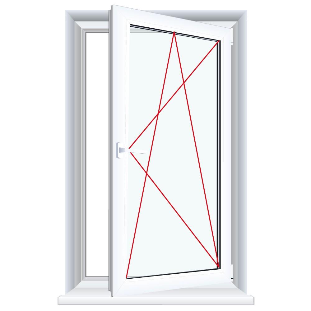 Kunststofffenster Weiss Dreh Kipp 2 Fach 3 Fach Verglasung Alle