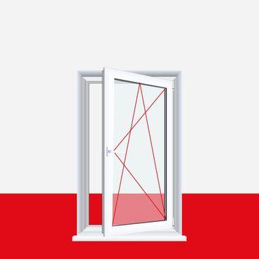 Kunststofffenster weiß Dreh Kipp 2-fach 3-fach Verglasung alle Größen – Bild 1