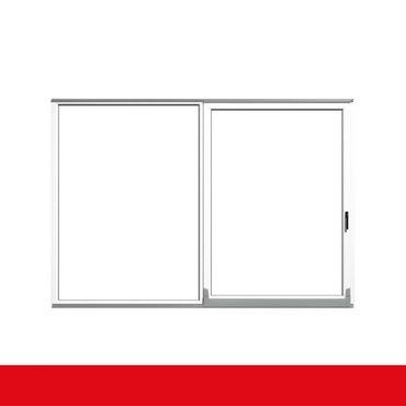 Parallel Schiebe Kipp Tür Schiebetür PSK Kunststoff Weiß – Bild 1