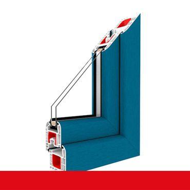 2-flügliges Kunststofffenster Brillantblau Dreh-Kipp / Dreh-Kipp mit Pfosten ? Bild 1