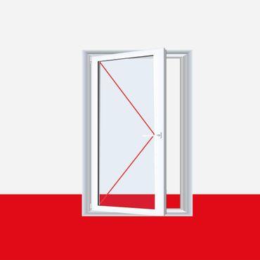 Kunststofffenster Dreh (ohne Kipp) Fenster Crown Platin ? Bild 2