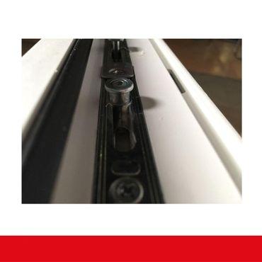 2-flüglige Balkontür Kunststoff Stulp Aluminium Gebürstet  ? Bild 8